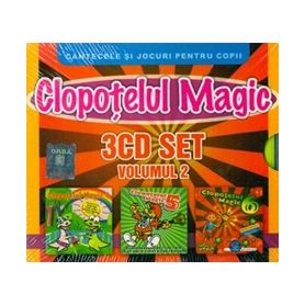 3CD SET - Volumul 2 - Clopotelul Magic