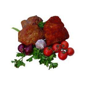 Schweinebacken mit Knoblauch: