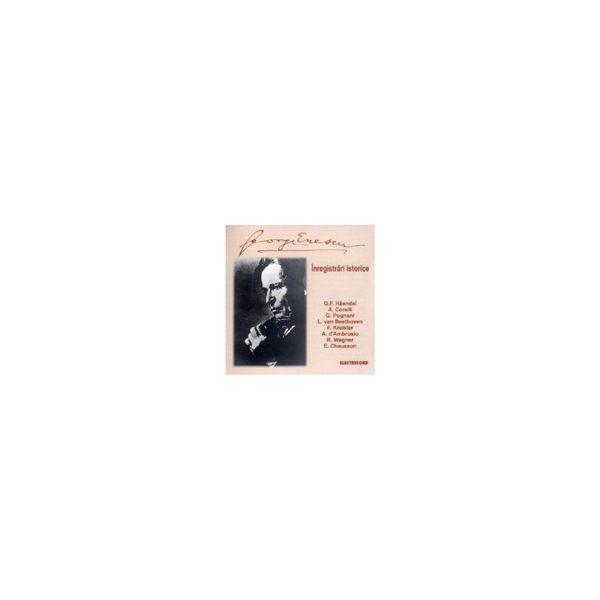 Inregistrari istorice - George Enescu
