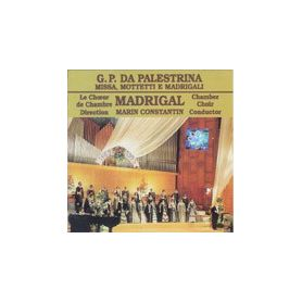 Missa Mottetti e Madrigal - G.P. Da Palestrina