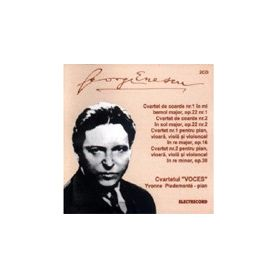 2CD - Cvartet de coarde nr.1 in mi bemol major, - George Enescu