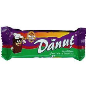 Danut - Napolitane glazurate cu ciocolata