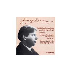 Variatiuni pentru doua piane pe o tema originala - George Enescu