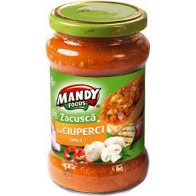 Mandy - Zacusca with mushrooms