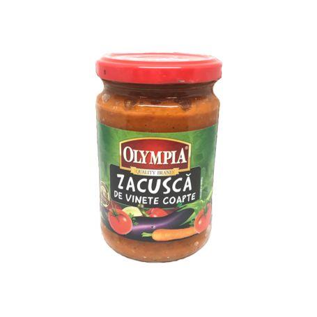Olympia - Gemüsezubereitung mit Auberginen