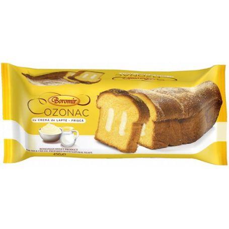Cozonac cu Crema de Lapte - Frisca - Zopf mit Milchcreme und Sahne