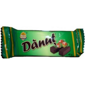 Danut - Wafers with hazelnut filling, glazed