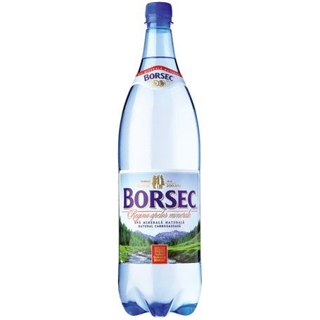 Borsec - Apa minerala gazoasa