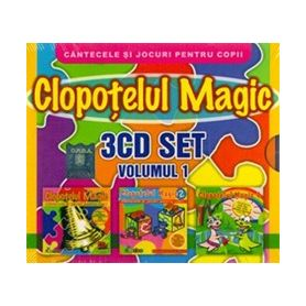3CD SET - Volumul 1 - Clopotelul Magic