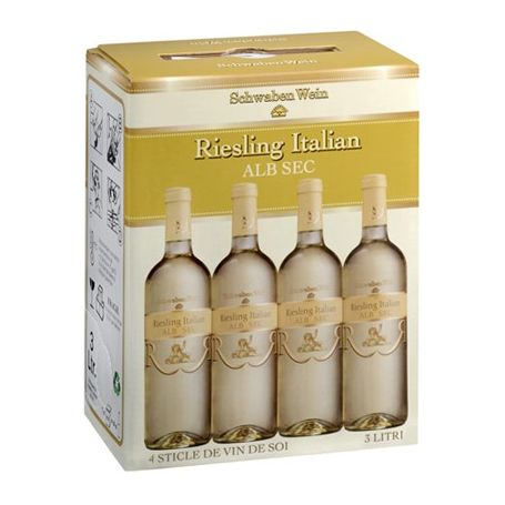 Recas - Bag in Box - Alb Sec - Riesling Italian