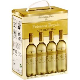 Recas - Bag in Box - Alb Demisec - Feteasca Regala