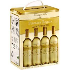 Recas - Bag in Box - Alb Demisec - Feteasca Regala