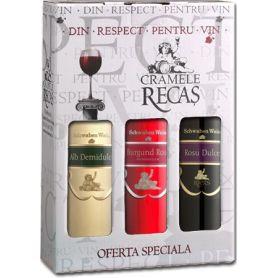 Recas 3er Karton - Schwaben Wein