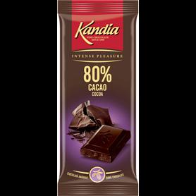 Kandia - 80% Kakao, Zartbittere Schokolade