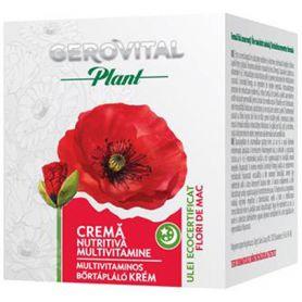 Gerovital plant - Crema nutritiva - de noapte