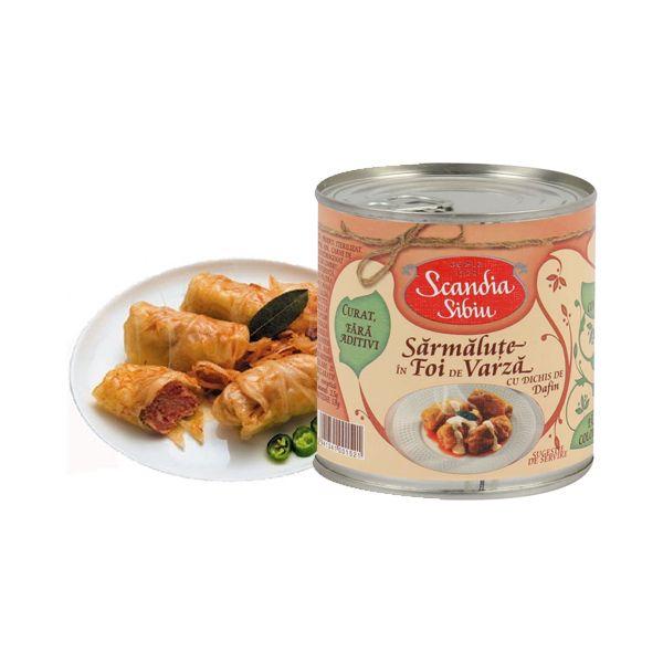Scandia Sibiu - Traditii - Sarmalute cu carne de porc