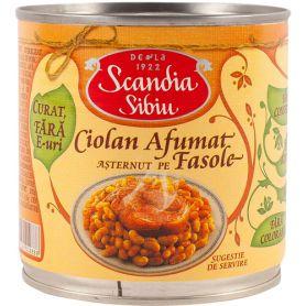 Scandia Sibiu - Traditii - Ciolan afumat cu fasole boabe