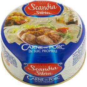 Scandia Sibiu - Carne Sibiu - Porc in suc propriu