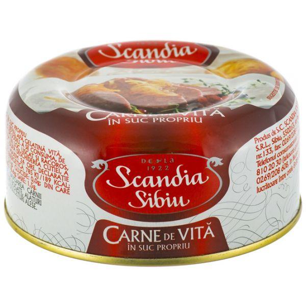 Scandia Sibiu - Carne Sibiu - Vita in suc propriu