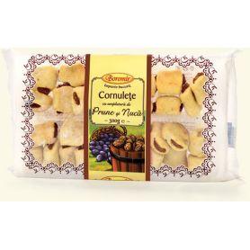 Boromir - Cornulete cu umplutura de prune si nuca