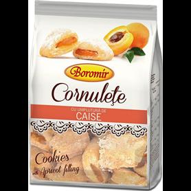 Boromir - Cornulete cu umplutura de Caise