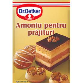 Dr. Oetker - Amoniu pentru prajituri