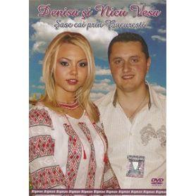 Denisa si Nicu Vesa - Sase cai prin Bucuresti - DVD