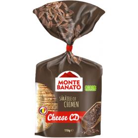 Monte Banato - Gesalzenes Knabbergebäck mit Kümmel