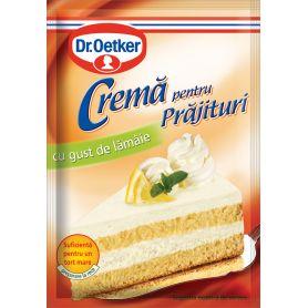 Dr.Oetker - Crema pentru Prajituri cu gust de lamaie