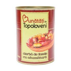 Bunatati de la Topoloveni - Ciorba de fasole cu afumatura