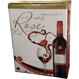 Recas - Bag in Box - Red Medium Sweet - Demidulce Rosu