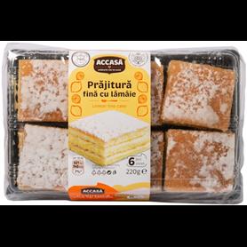 Accasa - Prajitura fina cu lamaie - Zitronenschnitte