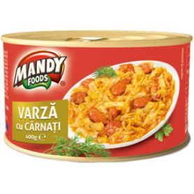 Mandy - Varza Gatita cu carnati afumati