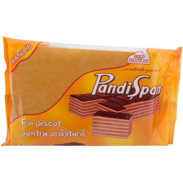 Pandispan-vanilie