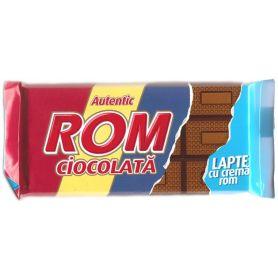 Rom Autentic - Ciocolata cu crema rom