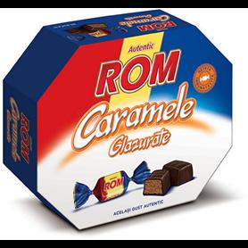 Rom Autentic - Caramele glazurate - Toffees mit Rumzentrum und Kakaoglasur