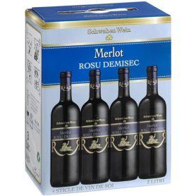 Recas - Bag in Box - Merlot - Demisec 3L