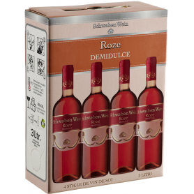 Recas - Bag in Box - Roze - Demidulce - 3L