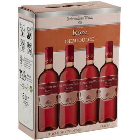 Recas - Bag in Box - Roze - Demidulce - 3L