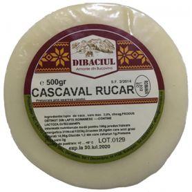 Dibaciul - Cascaval Rucar - din lapte de vaca pasteurizat