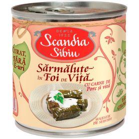 Scandia Sibiu - Traditii - Sarmalute in foi de vita cu carne de porc si vita