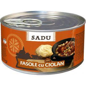 Scandia Sibiu - Sadu - beans with smoked pork chop