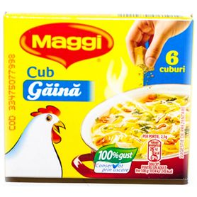 Maggi - Würzmischung mit Huhn - 6 Würfel