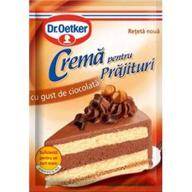 Dr.Oetker - Mix pentru crema pentru prajituri cu gust de ciocolata