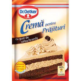 Dr.Oetker - Mix pentru Cremă pentru Prăjituri cu gust de cafea / brandy