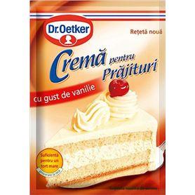 Dr.Oetker - Mix pentru Cremă pentru Prăjituri cu gust de vanilie