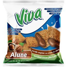 Viva - Hazelnut cream filled pillows 100g