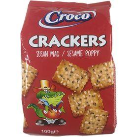 Croco - Cracker mit Sesam und Mohn