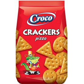 Croco - Crackers biscuits with pizza flavour