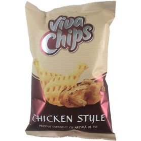 Viva Chips - Expanded product with chicken flavor